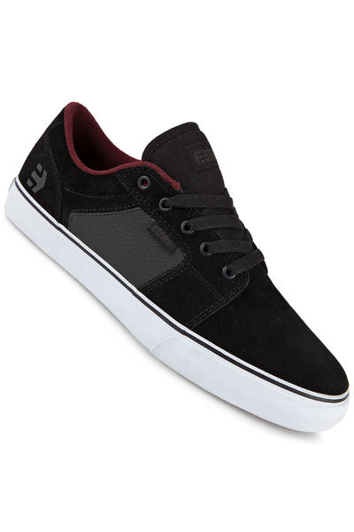 Etnies Barge LS Suede Schuh (black charcoal red)