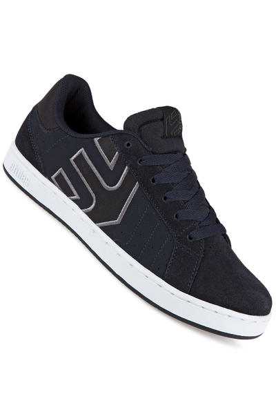 Etnies Fader LS Suede Shoe (navy white)