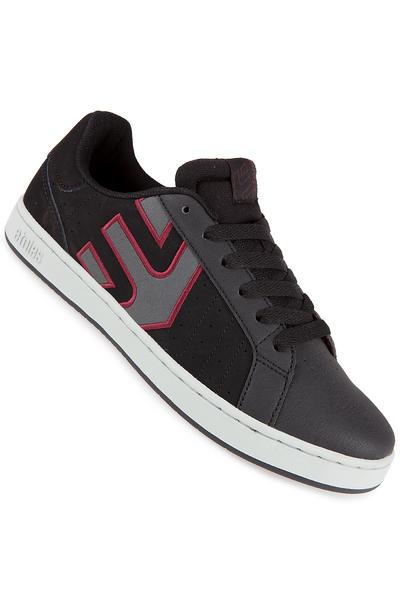 Etnies Fader LS Nubuck Shoe (black charcoal red)
