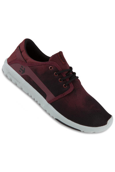 Etnies Scout Schuh (red black grey)