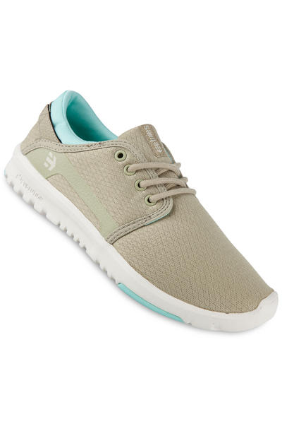 Etnies Scout Shoe women (olive white)