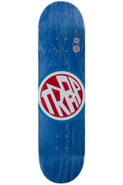 "Trap Skateboards Classic Big Circle 8.25"" Deck (blue)"