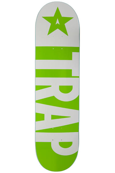 "Trap Skateboards Big Flag 8.25"" Deck (green)"