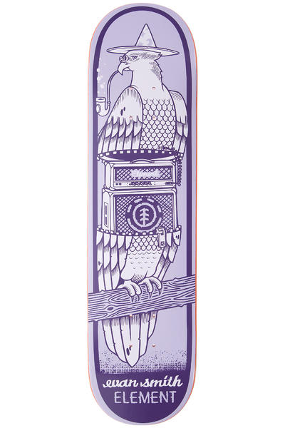 "Element Evan Zipper 7.75"" Deck (purple)"