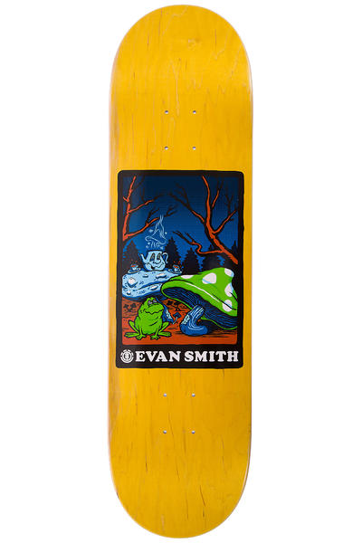 "Element Evan Second Hand 8.375"" Deck (yellow)"