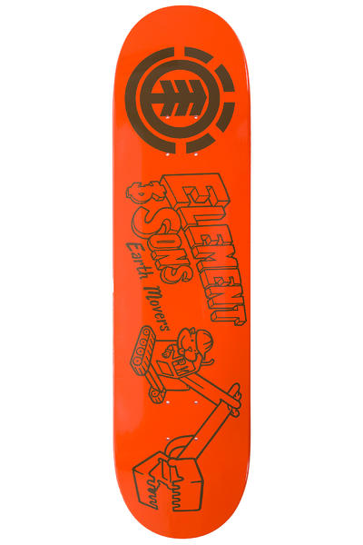 "Element Family Business Earth 8"" Deck (orange)"
