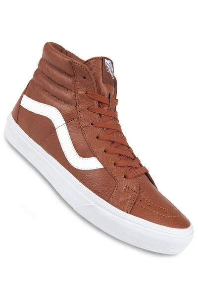 Vans Sk8-Hi Reissue Leather Shoe (tortoise shell)