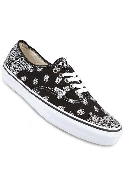 Vans Authentic Shoe (bandana black true white)