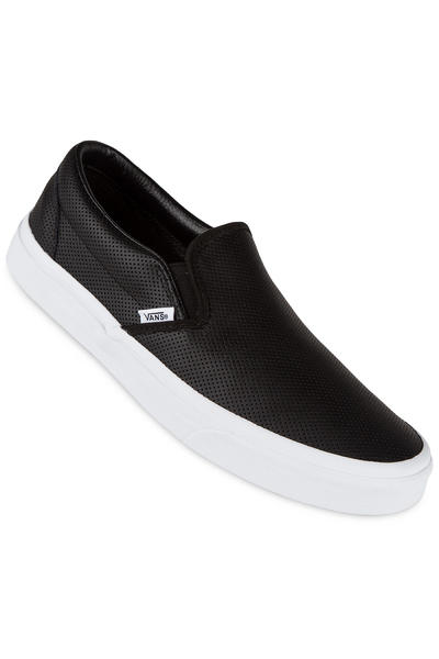 Vans Classic Slip-On Leather Schuh (perf black)