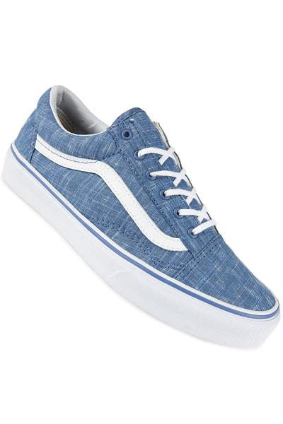 Vans Old Skool Shoe women (denim blue true white)