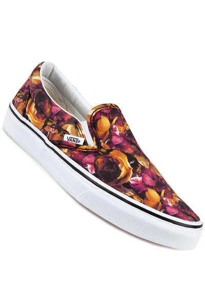 Vans Classic Slip-On Schuh women (floral multi true white)