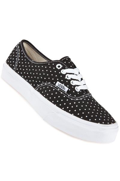 Vans Authentic Slim Shoe women (micro hearts black true white)