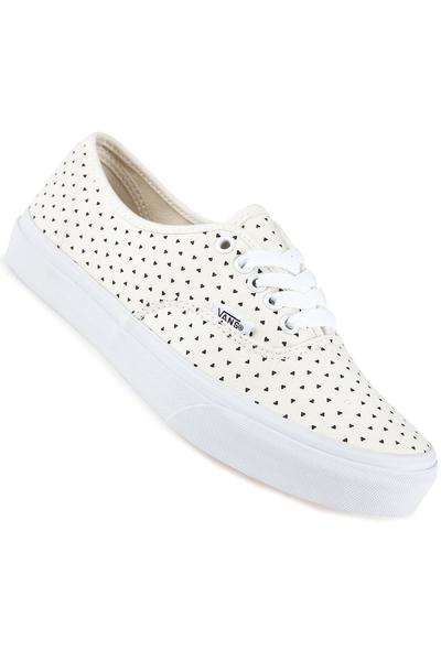 Vans Authentic Slim Schuh women (micro hearts classic white black)