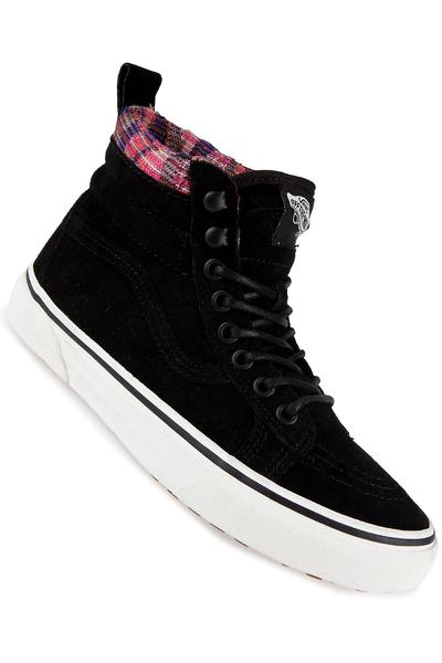 Vans Sk8-Hi MTE Shoe women (black woven chevron)