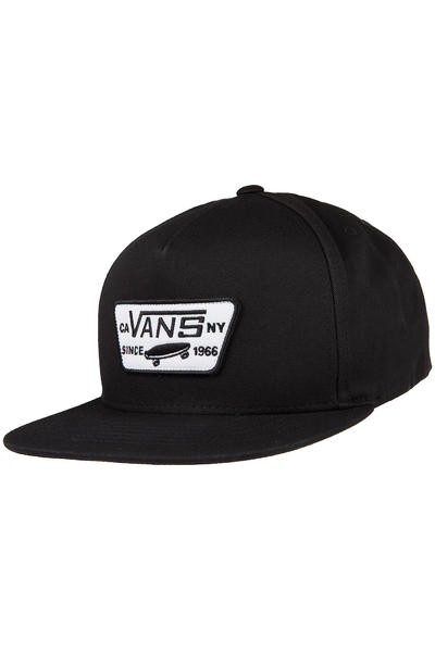 Vans Full Patch Snapback Cap (true black)