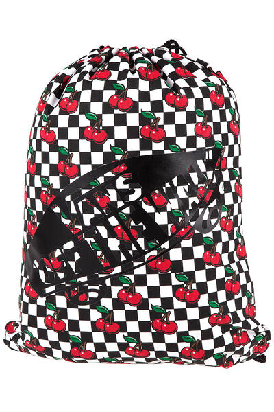 Vans Benched Tasche women (cherry checkers black true white)