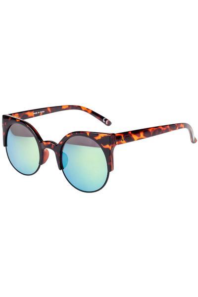 Vans Halls & Woods Sunglasses women (dark tortoise green gradient)