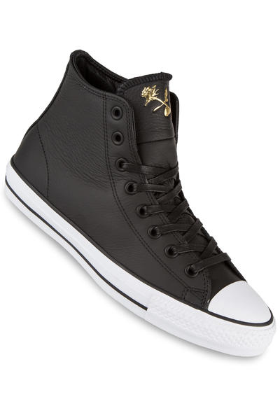 Converse CTAS Pro Sage Elsesser Leather Schuh (black rich gold white)