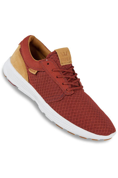 Supra Hammer Run Shoe (burnt henna woodthrush white)