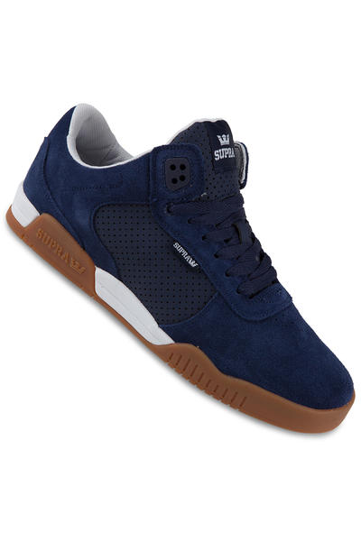 Supra Ellington Suede Shoe (navy gum)