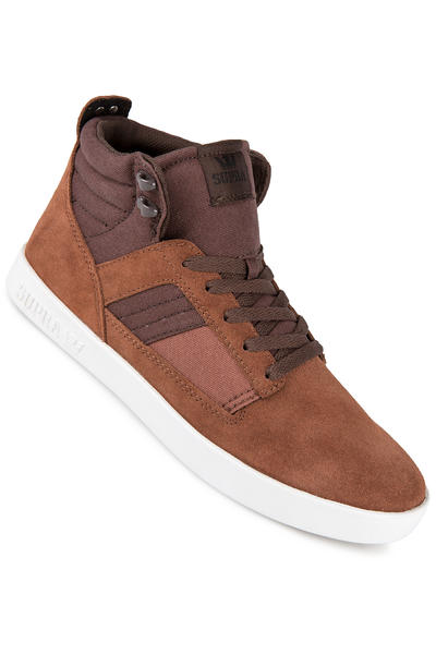 Supra Bandit Suede Shoe (brown chocolate white)