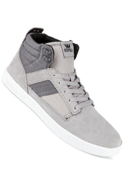 Supra Bandit Suede Shoe (grey charcoal off white)
