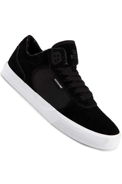 Supra Ellington Vulc Suede Shoe (black white)