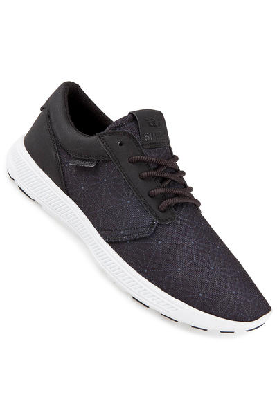 Supra Hammer Run Shoe (black print white)