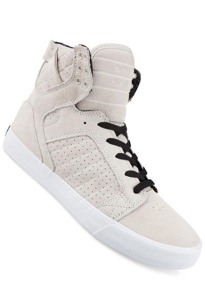 Supra Skytop Suede Schuh (off white black white)