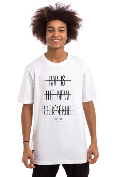 Cityfellaz Rap New Rock T-Shirt (white)