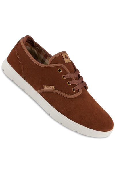 Emerica Wino Cruiser LT Suede Shoe (brown brown)