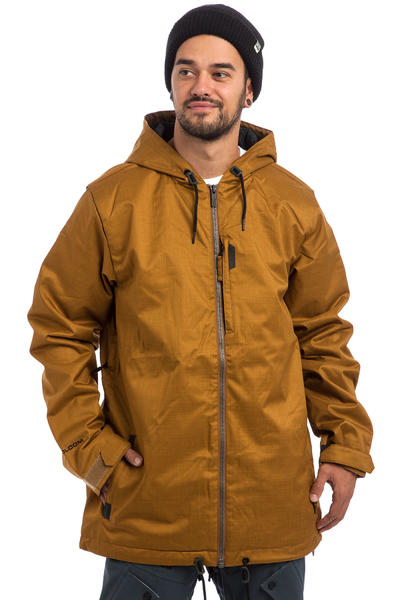 Volcom Patch Insulated Snowboard Jacket (caramel)