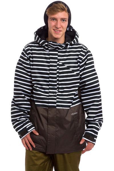 Volcom Retrospec Insulated Snowboard Jacket (black white)