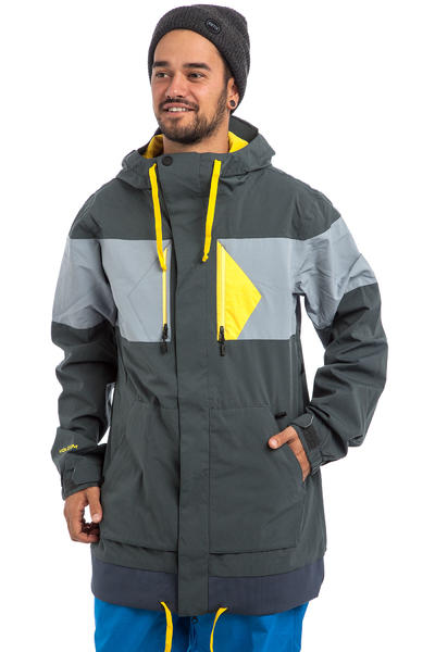 Volcom CP3 Snowboard Jacket (charcoal)