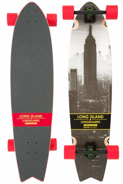 """Long Island Skyline 37.2"""" (94,49cm) Komplett-Longboard"""