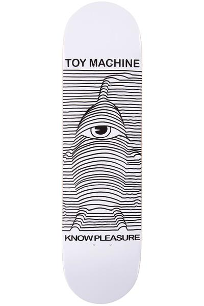 "Toy Machine Toy Division 8.125"" Deck (white)"