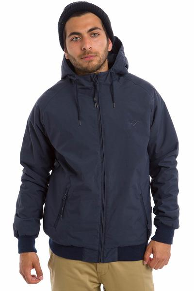 Cleptomanicx Simplist Jacket (dark navy)