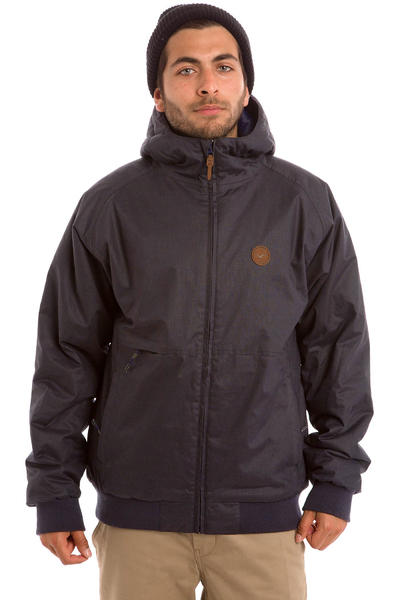 Cleptomanicx Polarzipper Hemp 2 Jacke (dark navy)