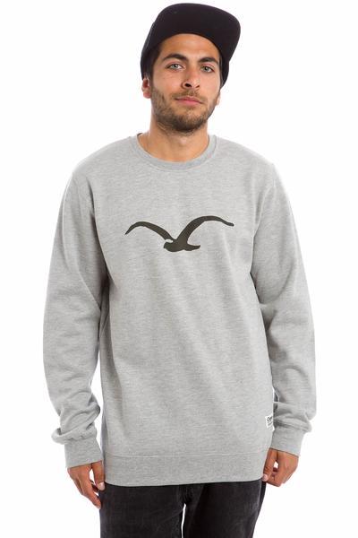 Cleptomanicx Möwe Sweatshirt (heather grey)