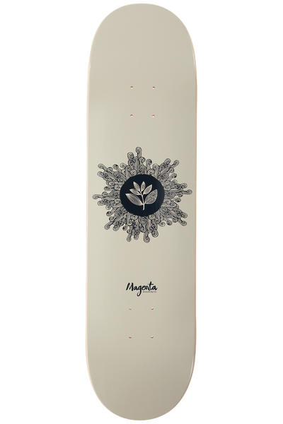 "Magenta Team Sun 8.25"" Deck (white dark blue)"