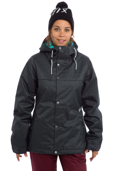 Volcom Bolt Insulated Snowboard Jacke women (charcoal)