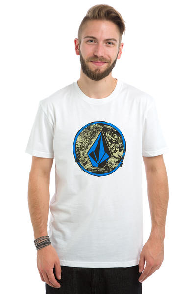 Volcom Punk Circle T-Shirt (white)