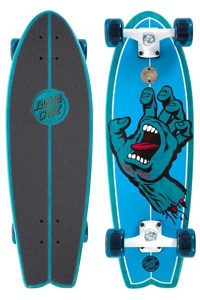 "Santa Cruz Screaming Hand Shark 8.8"" x 27"" Cruiser (blue)"