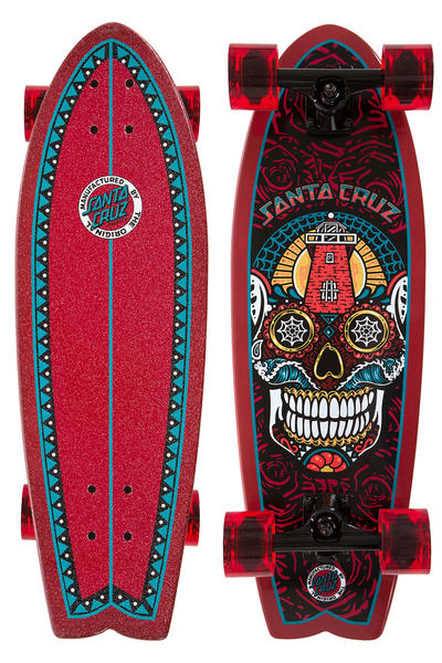 "Santa Cruz Sugar Skull Shark 8.8"" x 27.7"" Cruiser"