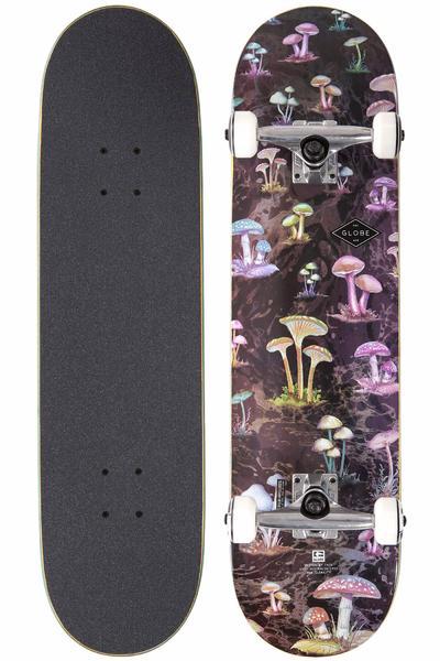 """Globe Full On 8"""" Komplettboard (black mushrooms)"""