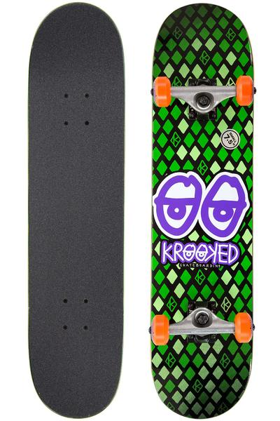 "Krooked Nobel Eyes 7.5"" Complete-Board (green)"