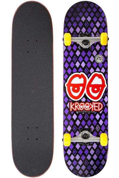 "Krooked Nobel Eyes 7.75"" Complete-Board (purple)"