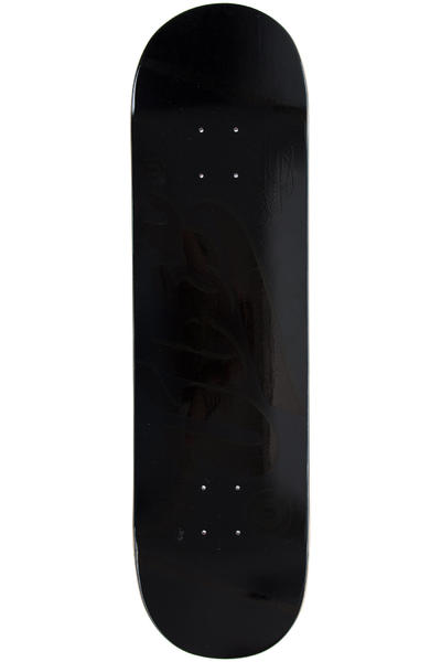 "Über Skateboards Black In Black 8.375"" Deck (black)"