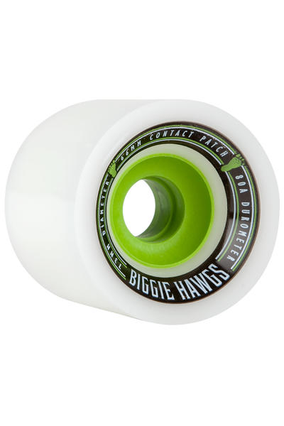 Hawgs Biggie 73mm 80A Roue (white) 4 Pack