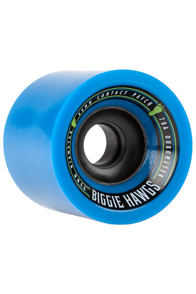 Hawgs Biggie 73mm 78A Roue (blue) 4 Pack